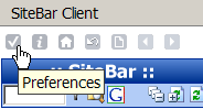 Firefox Extension Preferences